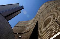 Foto clássica do edifício Copan, no Centro de São Paulo. 26/06/2007. Foto: NILTON FUKUDA/AE