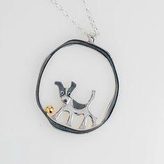 Jack Russell Terrier Pendant | Saba Jewellery