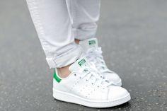Comment donner une seconde jeunesse à ses baskets en cuir blanches ? - Journal des Femmes Mode