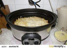 Zapečené brambory v pomalém hrnci recept - TopRecepty.cz Rice Cooker, Slow Cooker, Macaroni And Cheese, Crockpot, Ethnic Recipes, Kitchen, Ph, Food, Potatoes