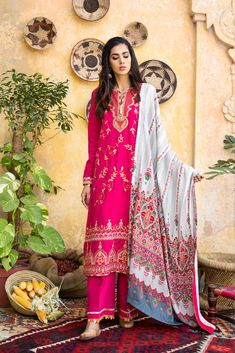 Ethnic by Outfitters Fancy Winter Dresses Casual Shirts Designs 2020 Collection consists of linen khaddar shawl dresses, velvet suits, stitched kurtis Winter Dresses, Casual Dresses, Winter Suit, Velvet Suit, Embroidery Dress, Kurti, Designer Dresses, Casual Shirts, Shirt Designs