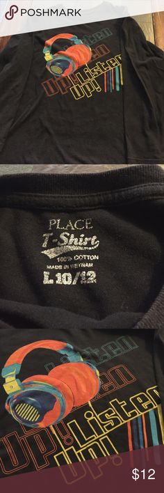 Long sleeve shirt Used long sleeve music shirt Children's Place Shirts & Tops Tees - Long Sleeve