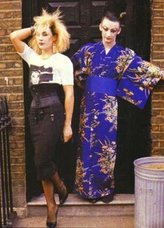 BOY GEORGE and MARILYN back in the day 1980