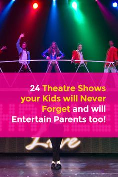One of the best ways to spend some quality time with the children is to take them to a theatrical play or musical that will keep all of