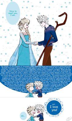 Extra of Jelsa Meet You Jack Frost extra Jelsa, Jack Y Elsa, Jack Frost And Elsa, Disney And Dreamworks, Disney Pixar, Disney Ships, Disney Crossovers, Disney Jokes, Cute Comics