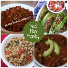 Plant based meal plan with healthy comfort food! Naturally gluten-free and vegan.