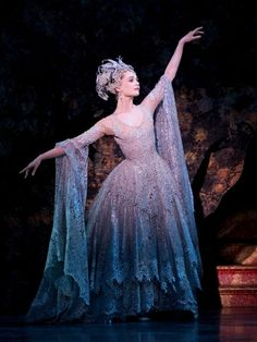 Jenna Roberts as the Lilac Fairy in Birmingham Royal Ballet's production of The Sleeping Beauty. Shes gorgeous!