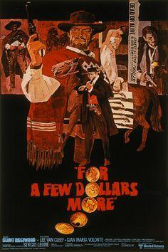 For a Few Dollars More (1965)  Director:  Sergio Leone  Cast: Clint Eastwood, Lee Van Cleef, Volonté, Mario Brega, Luigi Pistilli, Aldo Sambrell, Klaus Kinski