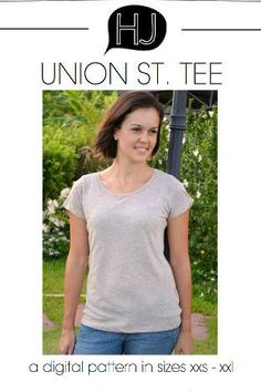 Union St. Tee by Hey June Pattern Preview 1 | Indiesew.com