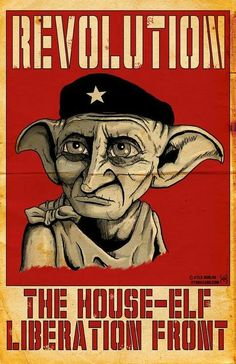 In Honor of Dobby, a free elf! Harry Potter Props, Harry Potter Poster, Harry Potter Artwork, Harry Potter Universal, Dobby Harry, Propaganda Art, Art Store, Elf, Anime