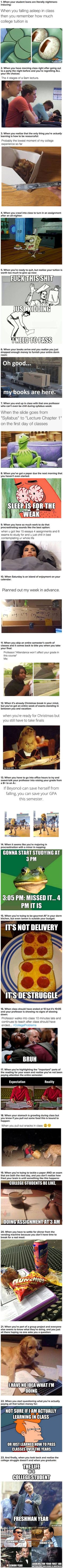 23 Pictures Every College Student Will Understand - 9GAG