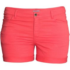 See this and similar H&M shorts - 5-pocket shorts in washed stretch twill with a regular waist and sewn-in turn-ups at the hems. 98% cotton, 2% elastane. Machin...
