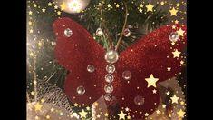 Manualidades Navideñas para el arbol de navidad de Mariposa