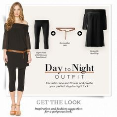 Intimissimi Day to Night outfit