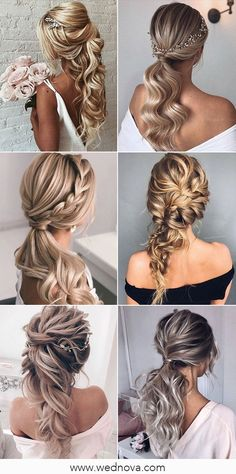 13 Super Charming Wedding Hairstyles for 2020 #wedding #weddinghairstyle #bridalhairstyle #bridalhair Wedding Trends, Wedding Designs, Wedding Styles, Wedding Ideas, Spring Wedding Decorations, Summer Wedding Colors, Dusty Rose Color, Blush Color, Shades Of Purple