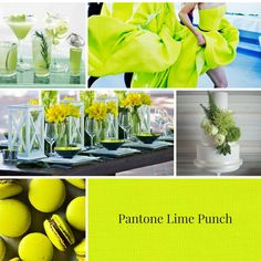 Color trends Spring 2018 | Pantone Lime punch #color #trends #2018
