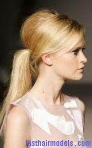 Ponytail Hairstyles – Ponytails For Medium Short Hair – Beauty ideas Pony Hairstyles, Pretty Hairstyles, Wedding Hairstyles, Hairstyle Ideas, Easy Hairstyle, Winter Hairstyles, Office Hairstyles, Blonde Hairstyles, Style Hairstyle