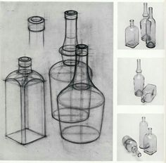 15 Daunting Glass Vases Dining Table Ideas 3 Simple and Stylish Ideas: Crystal Vases Fillers tall vases eiffel towers. Basic Drawing, Drawing Lessons, Drawing Techniques, 3d Drawings, Drawing Sketches, Pencil Drawings, Sketching, Teaching Drawing, Observational Drawing