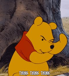 Think think think. The Many Adventures of Winnie the Pooh (1977)
