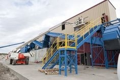 Construction and Demolition Waste Recycling Facility at the Edmonton Waste Management Centre