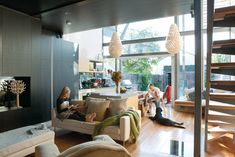 A surprisingly modern addition transforms an 1880 bungalow in Adelaide, Australia, into a spacious and sensuous abode.