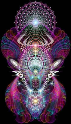 We are all intertwined within the divine thread of all life. Sacred Geometry