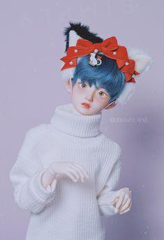 Ooak Dolls, Plush Dolls, Blythe Dolls, Pretty Dolls, Beautiful Dolls, Arte Lowbrow, Doll Museum, Doll Drawing, Enchanted Doll