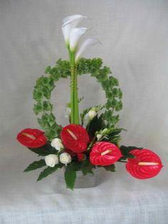 Fire and Ice Flower Arrangement - Alcorns Flower & Garden Centre located Letterkenny