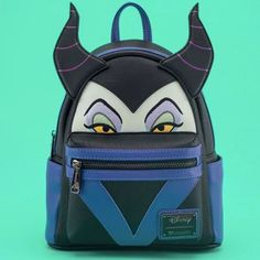 Marvelous Loungefly Maleficent Mini Backpack Coming Soon Source by Fossil Handbags, Hobo Handbags, Handbags Michael Kors, Les Descendants, Cute Mini Backpacks, Maleficent, Disney Handbags, Disney Themed Outfits, Unique Purses