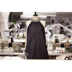 Balenciaga Atelier Paris: Black Silk Gazar Trapeze Gown #Balenciaga #MetGala #CareyMulligan