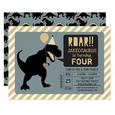 Dinosaur Birthday Party Invitations #Birthday #BirthdayInvitations #BirthdayInvites Dinosaur Birthday Invitations, Free Printable Birthday Invitations, Girl Dinosaur Birthday, The Good Dinosaur, Camping Tips, Invites, Party Supplies, Collections, Decorations