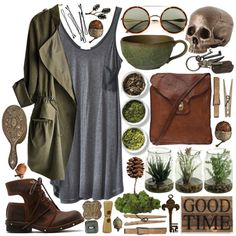 O.R.G.A.N.I.C. by byjessica on Polyvore featuring American Vintage, Jeffrey Campbell, Campomaggi, Wildfox, AllSaints, Tea Collection, Crate and Barrel, Second Nature By Hand, BOBBY and vintage