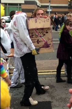 It's My Head in a Box - awesome costume