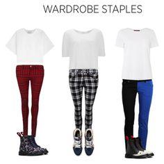"""Wardrobe Staples- Alternative"" by alloftheginjointsinalltheworld ❤ liked on Polyvore featuring 3.1 Phillip Lim, Vero Moda, MaxMara, Vans and Dr. Martens"