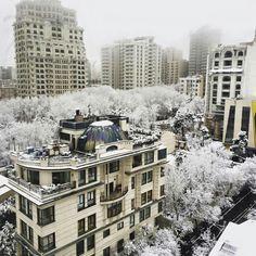 Tehran#firstsnow2015
