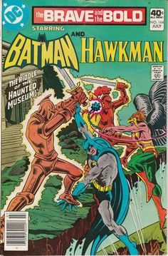 Brave & the Bold Vol. 26 No. 164  1980  Batman and Hawkman by TheSamAntics
