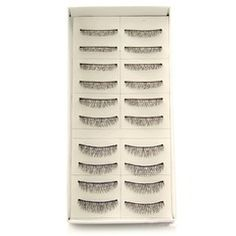 Manual Looking Curved Lashes 0# - 10 Pairs Per Box  From JJ's House, Bridal & bridal accessories.  www.jjshouse.com   We ship to Australia.   Please mention that you found them thru Jevel Wedding Planning's Pinterest Account.  Keywords: #makeupsupplies #jevelweddingplanning Follow Us: www.jevelweddingplanning.com  www.facebook.com/jevelweddingplanning/