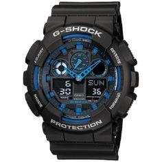 e71fb4737e ไม่ควรพลาดCasio G-Shock นาฬิกาข้อผู้ชาย สายเรซิน รุ่น GA-100