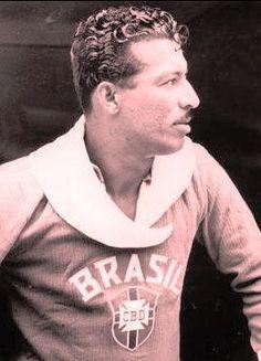 MUNDIAL 1950 - ZIZINHO por lumogo - Ex-Jogadores - Fotos da Seleção Brasileira, A maior galeria de fotos dos torcedores da seleção Brasileira de futebol. Publique a foto da sua torcida
