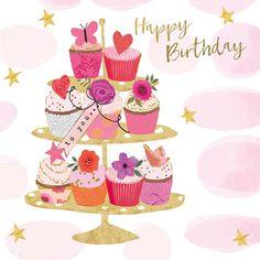 Cute Happy Birthday, Happy Birthday Wishes Cards, Happy Birthday Pictures, Birthday Wishes Quotes, Bday Cards, Birthday Greeting Cards, Birthday Posts, Happy B Day, Birthdays