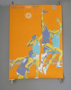 Designspiration — Otl Aicher 1972 Munich Olympics - Posters - Sports Series