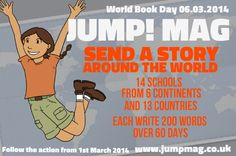 This week our journey starts at St Martin's School in Brentwood, Essex, UK.   Join us to take a trip around the world as we Send a Story to 14 schools on 6 continents, and 13 countries