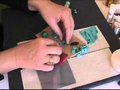 How to Make Faux Turquoise with Polymer Clay - YouTube