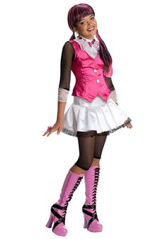 Costume Draculara Monster High bambina 5 a 7 anni: Amazon.it: Giochi e giocattoli
