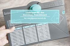 Linktipps zum Envelope Punchboard   marygoesround.de