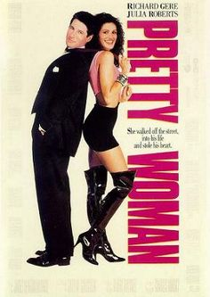 Pretty Woman, This romantic comedy Cinderella tale stars Julia Roberts and Richard Gere. This is the film that made Julia Roberts a star. Richard Gere, Julia Roberts, Chick Flicks, See Movie, Movie Tv, 80s Movie Posters, Pretty Woman Film, Pretty Movie, Beau Film