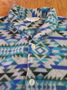 Little-Big-Horn-Shirt-Co Southwest Design Vest size Large  #LittleBigHornShirtCo