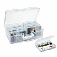 12-Case Photo Storage Carrier- these would come in helpful for flash cards or small games organization.