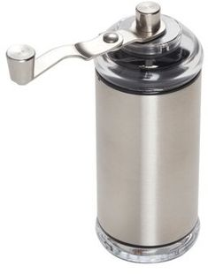 Copco Compact Manual Coffee Grinder, Stainless Steel, Aqua