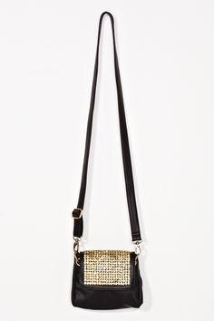 Goldmine Studded Bag